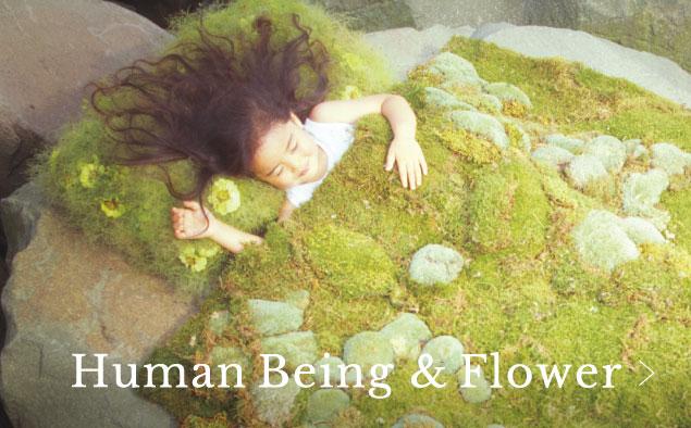Human Being & Flower