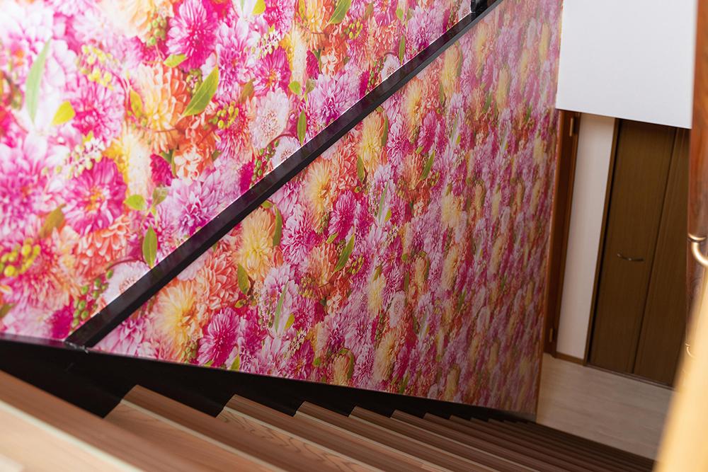 """階段 """"花一面のPhotopoint"""""""